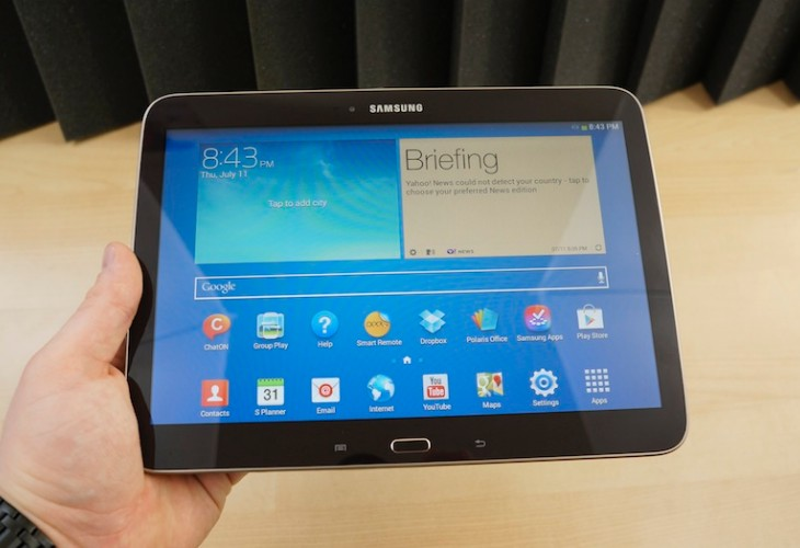 Samsung Galaxy Tab 3 10.1 is durable and inexpensive