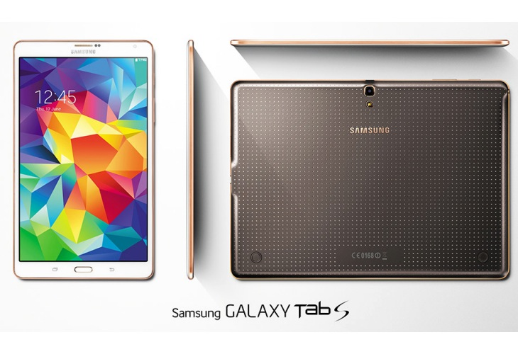Samsung Galaxy Tab S jolts iPad Air 2 eagerness