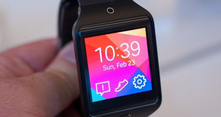 Samsung Gear 2 firmware 2.2.1.2 update live