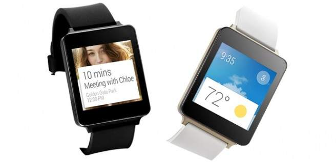 Samsung Gear 2 vs. LG G Watch features