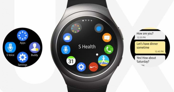 Samsung Gear S2 – What's new in 20.39 MB update