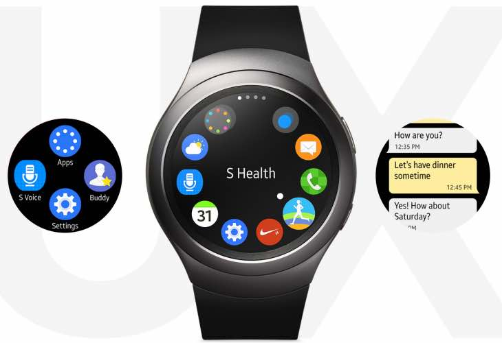 Samsung Gear S2 software update