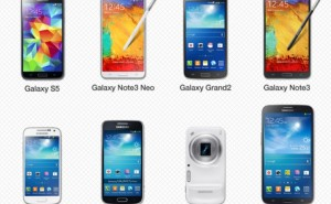 Samsung Gear smartphone, tablet compatibility list