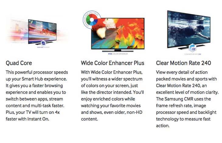Samsung UN40HU6950FXZA 4K TV review at half price – Product Reviews Net