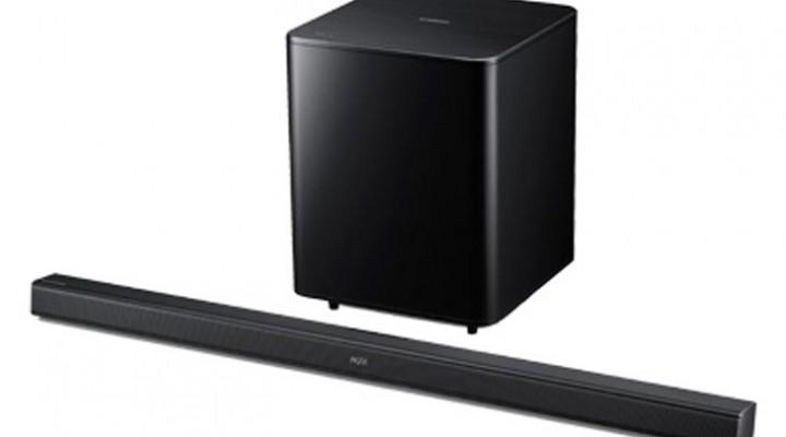 Samsung HW-F550 2.1 Sound Bar with Wireless Subwoofer