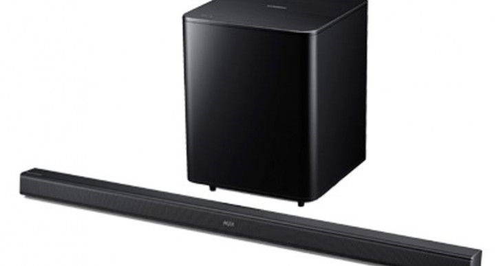 Samsung HW-F550 2.1 Sound Bar with Wireless Subwoofer