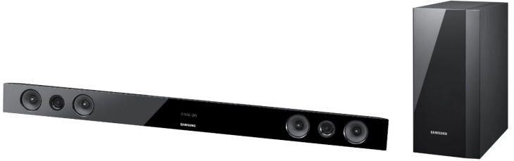 Samsung HW-FM45C Soundbar offers wireless feature