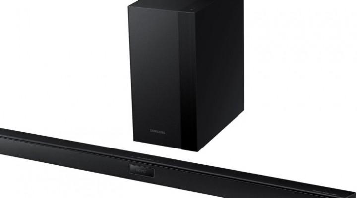 Samsung HWH450 Soundbar visual review and specs