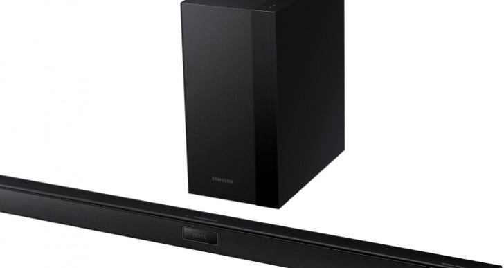 Samsung HWH450 Soundbar visual review and specs