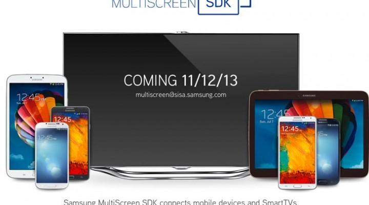 Samsung MultiScreen SDK gains release date