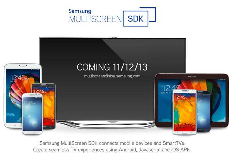 Samsung MultiScreen SDK gains release date