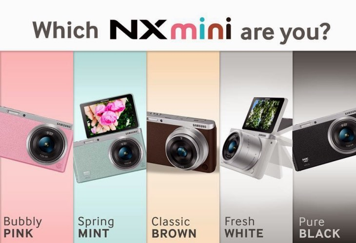 Samsung NX Mini Smart Camera specs review