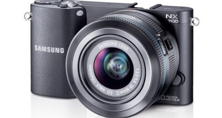 Samsung NX1100 review of specs and accessories