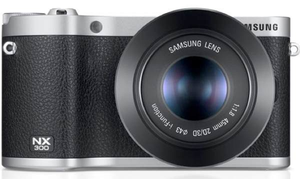 Samsung NX300 3D with GALAXY camera features