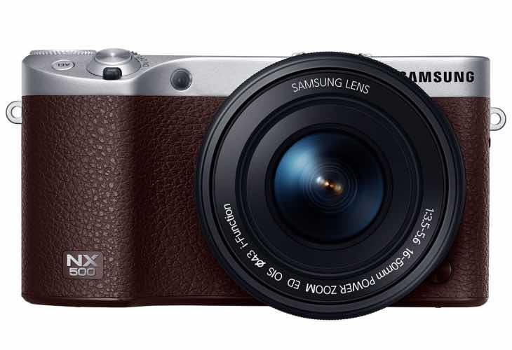 Samsung NX500 specs amaze