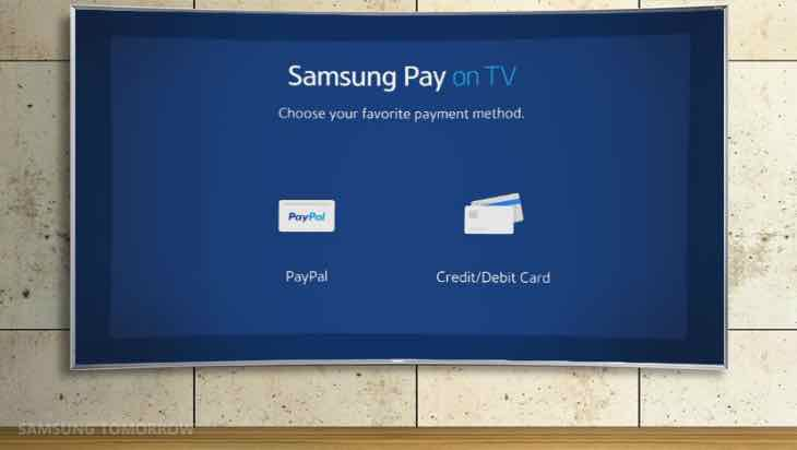 Samsung Pay on Smart TVs