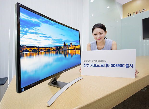 Samsung SD590C curved monitor harmony