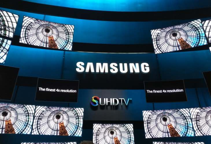 Samsung SUHD 4K TV price range for models
