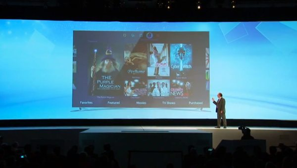 Samsung delivers five-screen Smart TV UI in 2013