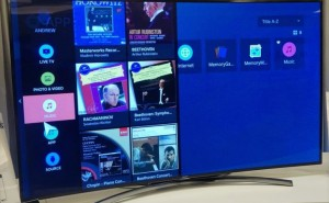Samsung Tizen Smart TV prototype indicates potential