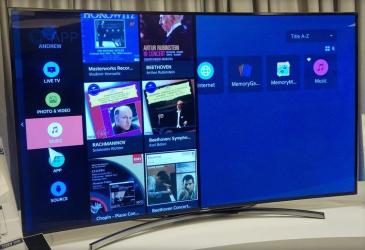 Samsung Tizen Smart TV prototype indicates potenital