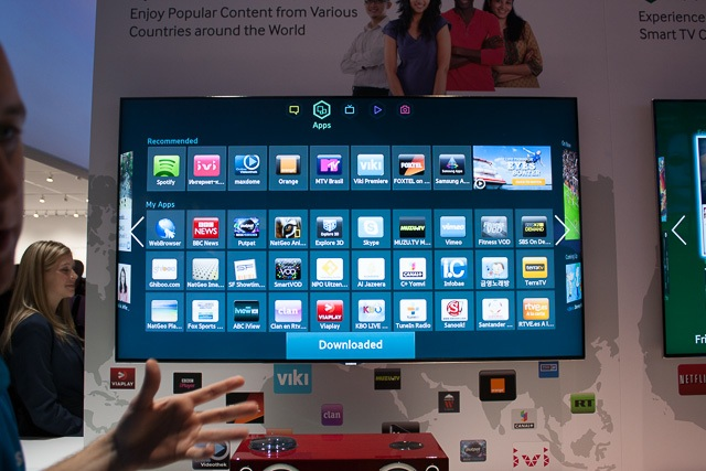 Samsung Tizen Smart TV prototype