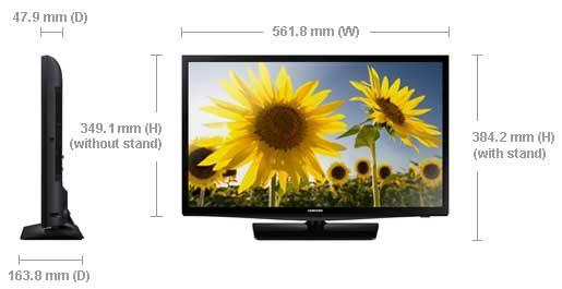 Samsung UN24H4000 LED HDTV