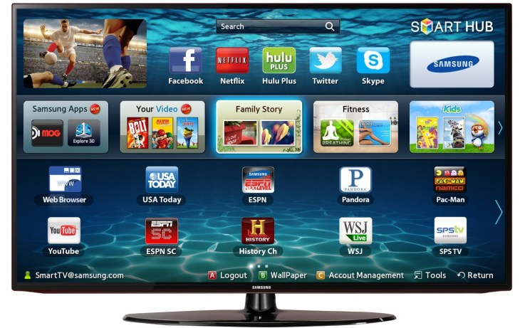 The Samsung UN46EH300 HD TV packs a punch in terms of features