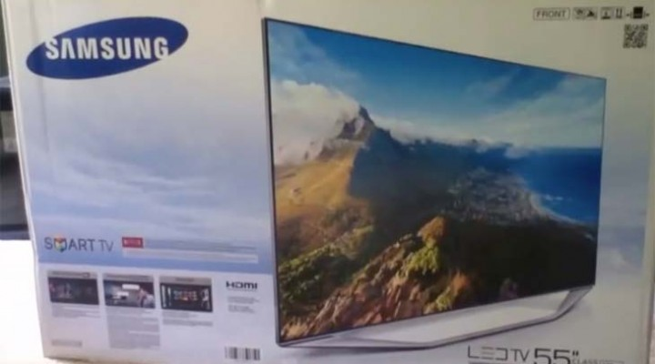 Samsung UN55H7150 review with unboxing