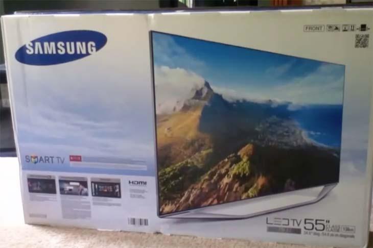 Samsung-UN55H7150-unboxing