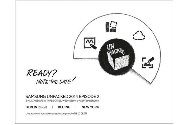 Samsung Unpacked invite hints live Galaxy Note 4 coverage