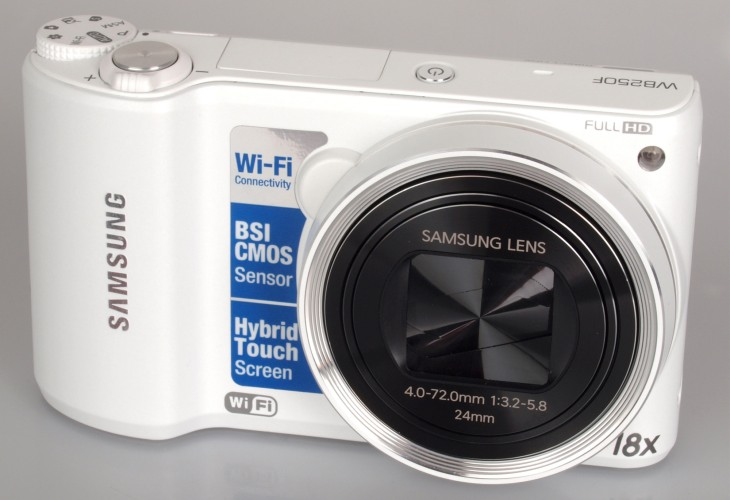 Samsung WB250F 14.2-Megapixel camera specs and review