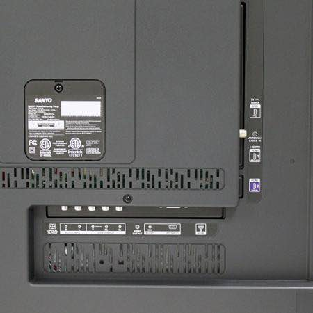 Sanyo DP58D34 connections