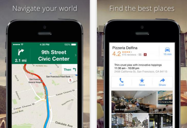 Save Google Maps offline in Android, iOS, and iPad