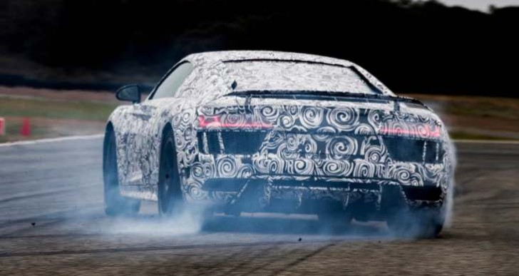Scintillating third-person review of the 2015 Audi R8