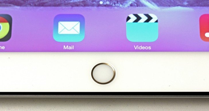 Security feature for iPad Air 2, mini 3 claimed
