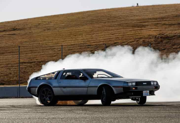 Self driving DeLorean celebrates Back to the Future day
