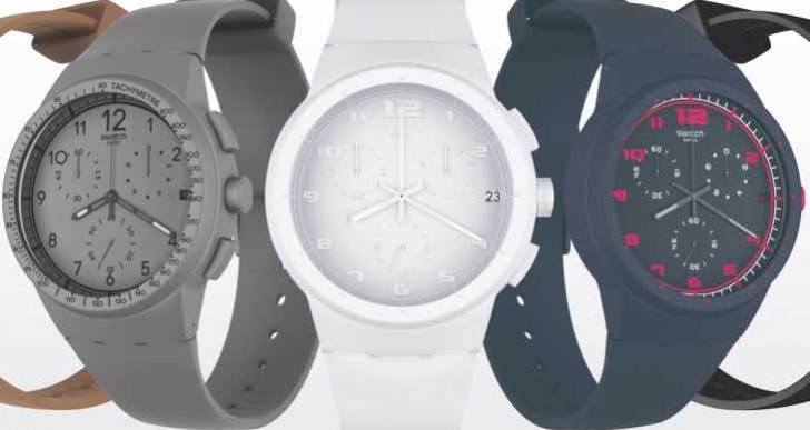 Self-winding Swatch smartwatch, a delusional Apple Watch rival