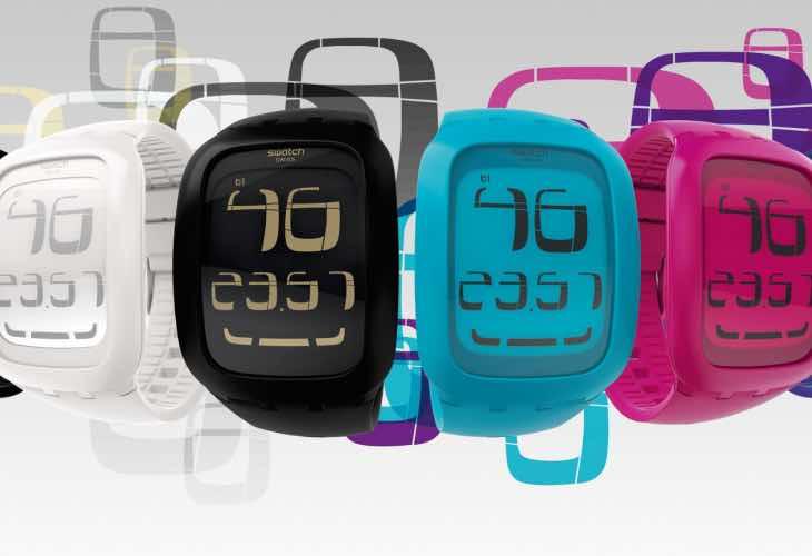Self-winding Swatch smartwatch