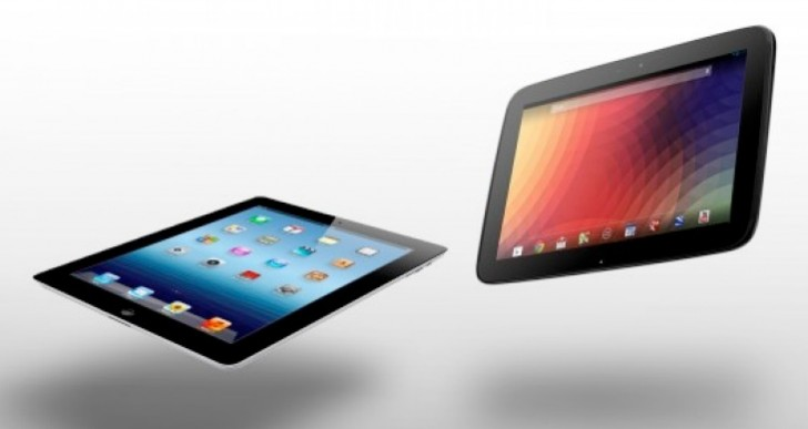 Separating iPad 5 vs. new Nexus 10 or 11
