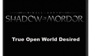 LOTR Middle-earth: Shadow of Mordor on PS4, Xbox One