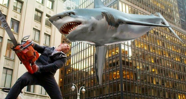 Sharknado 2 helps Go Shark Yourself app