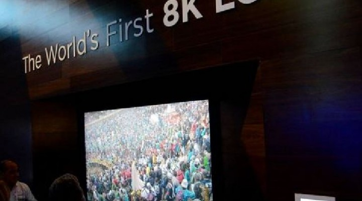 CES 2014: Sharp ready to unveil 85 inch, 8K glasses free 3D TV