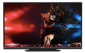 Sharp Aquos LC80LE650U 80-inch LED TV that's tilt mountable