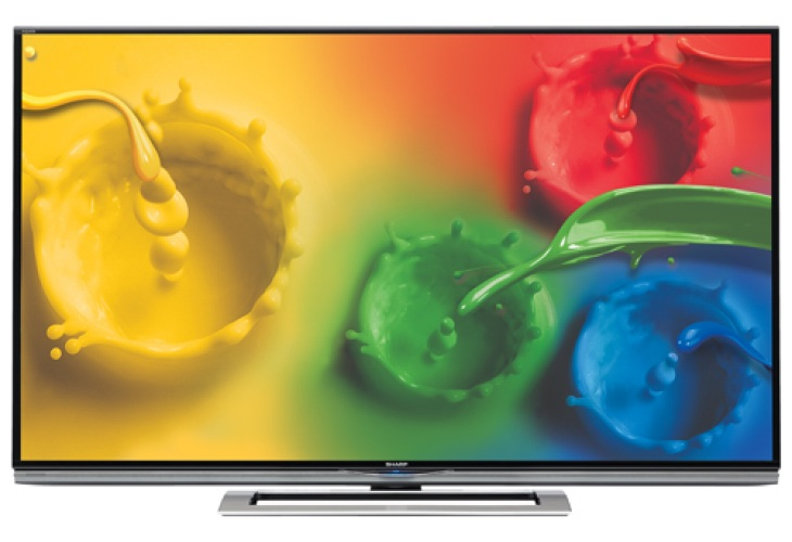 Sharp LC70UD1U 4K TV with tasty specs