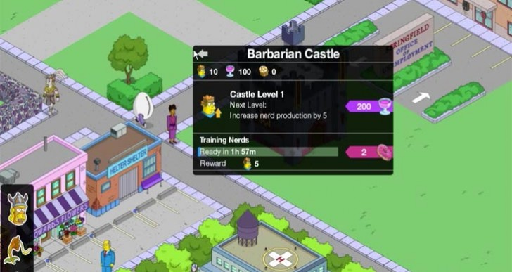 Simpsons: Tapped Out in 2 hours with Clash of Clones event