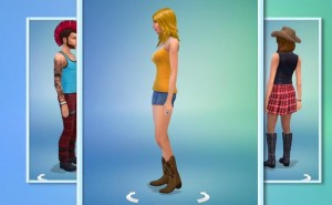 Sims 4 Create A Sim entices PS4, Xbox One release