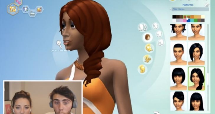 Sims 4 with Zoella and Alfie Deyes on YouTube