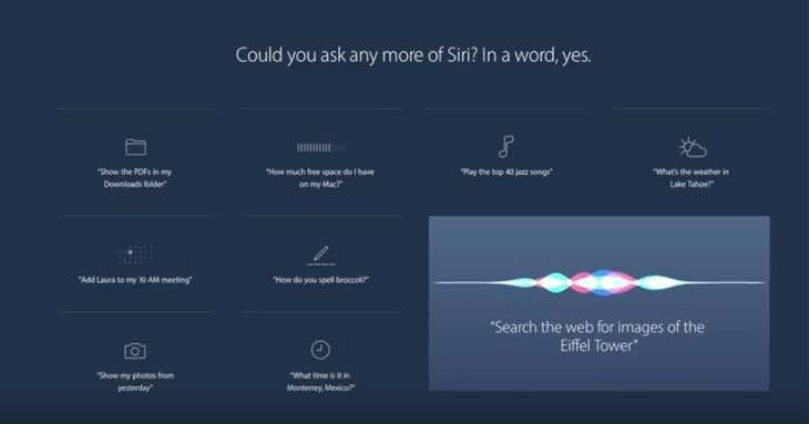 Siri on Mac review