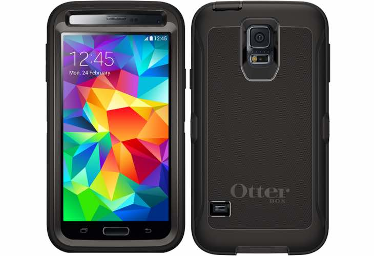Six Galaxy S6 OtterBox Defender Series Case options